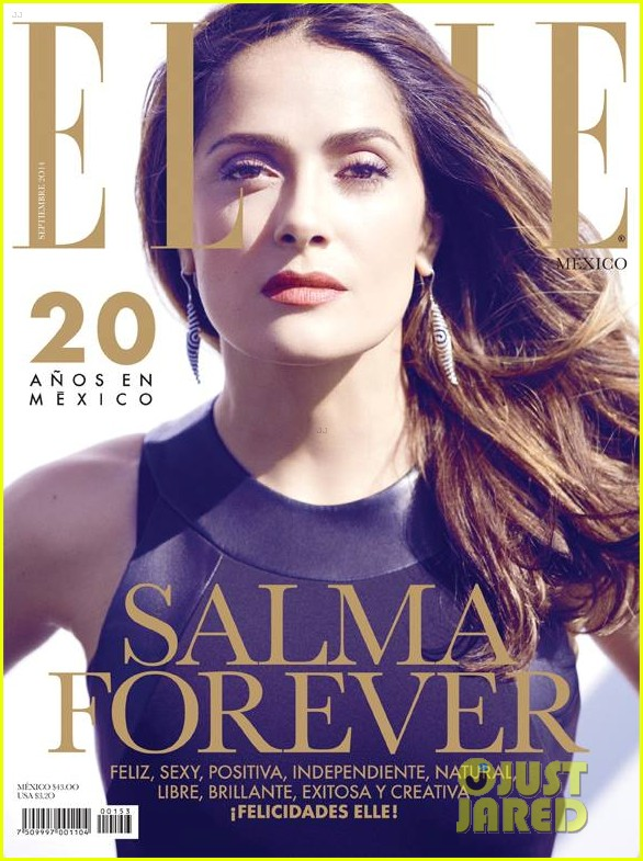 salma hayek covers elle mexico september 2014 03