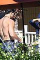 channing tatum goes swimming fully clothed shirtless joe manganiello 16