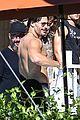 channing tatum goes swimming fully clothed shirtless joe manganiello 19