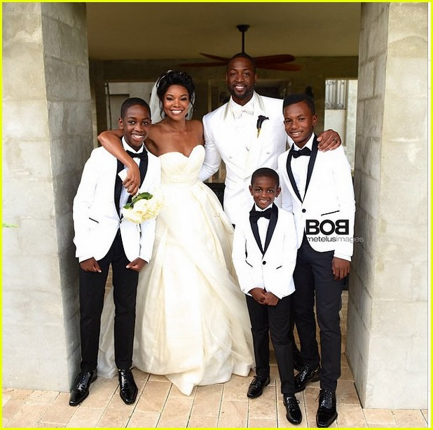 gabrielle union shares her wedding photos 013187399