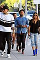 chris brown karrueche tran shop together in beverly hills 08