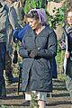 catherine zeta jones purple hairnet dads army 05