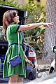 zooey deschanel goes green for new girl 07