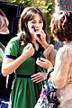 zooey deschanel goes green for new girl 12