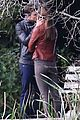 jamie dornan dakota johnson kiss in the woods 06