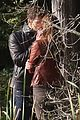 jamie dornan dakota johnson kiss in the woods 08