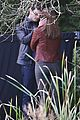 jamie dornan dakota johnson kiss in the woods 12
