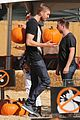 calvin harris aarika wolf pick pumpkins 12
