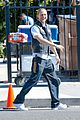 charlie hunnam is having a blast on sons of anarchy set 23