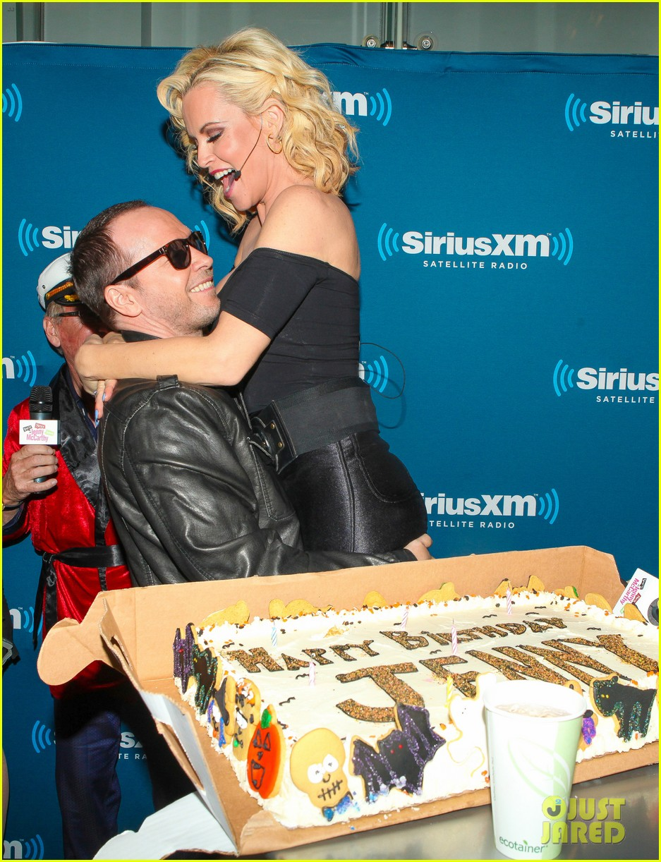 jenny mccarthy & donnie wahlberg channel 'grease' at siriusxm