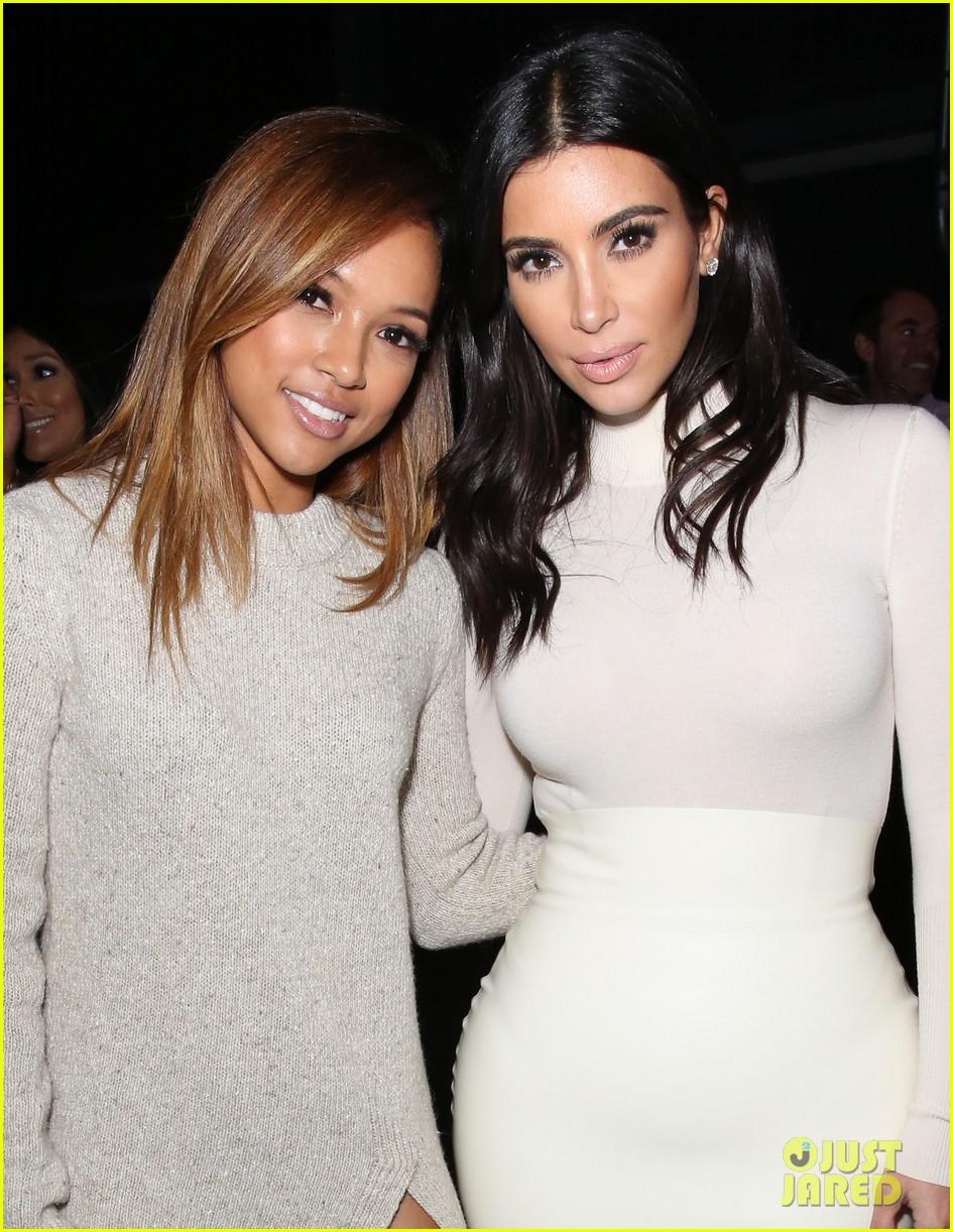 Kim Kardashian & Kanye West Support Teyana Taylor\'s Music at ...