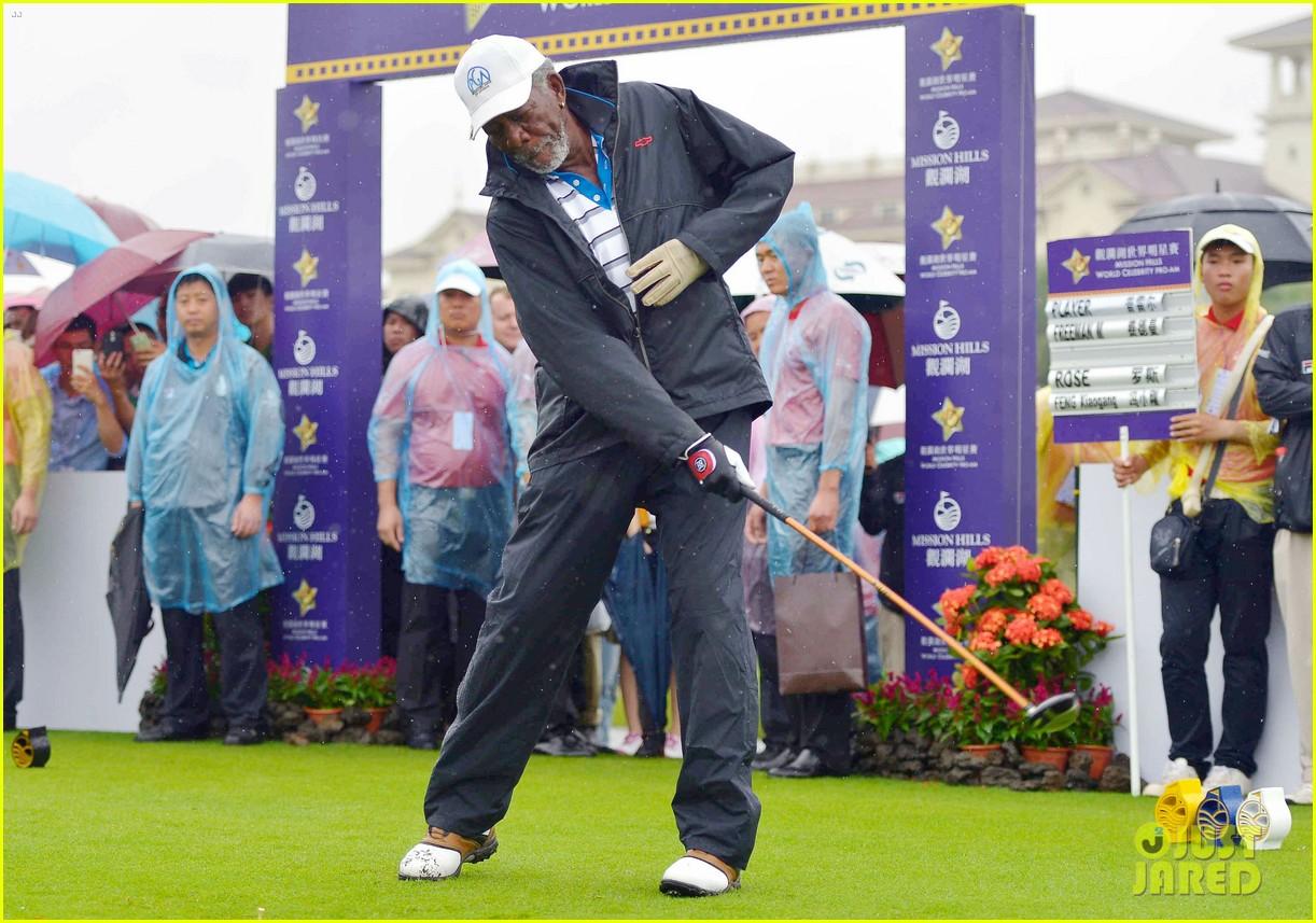 Resultado de imagen para Morgan Freeman golf