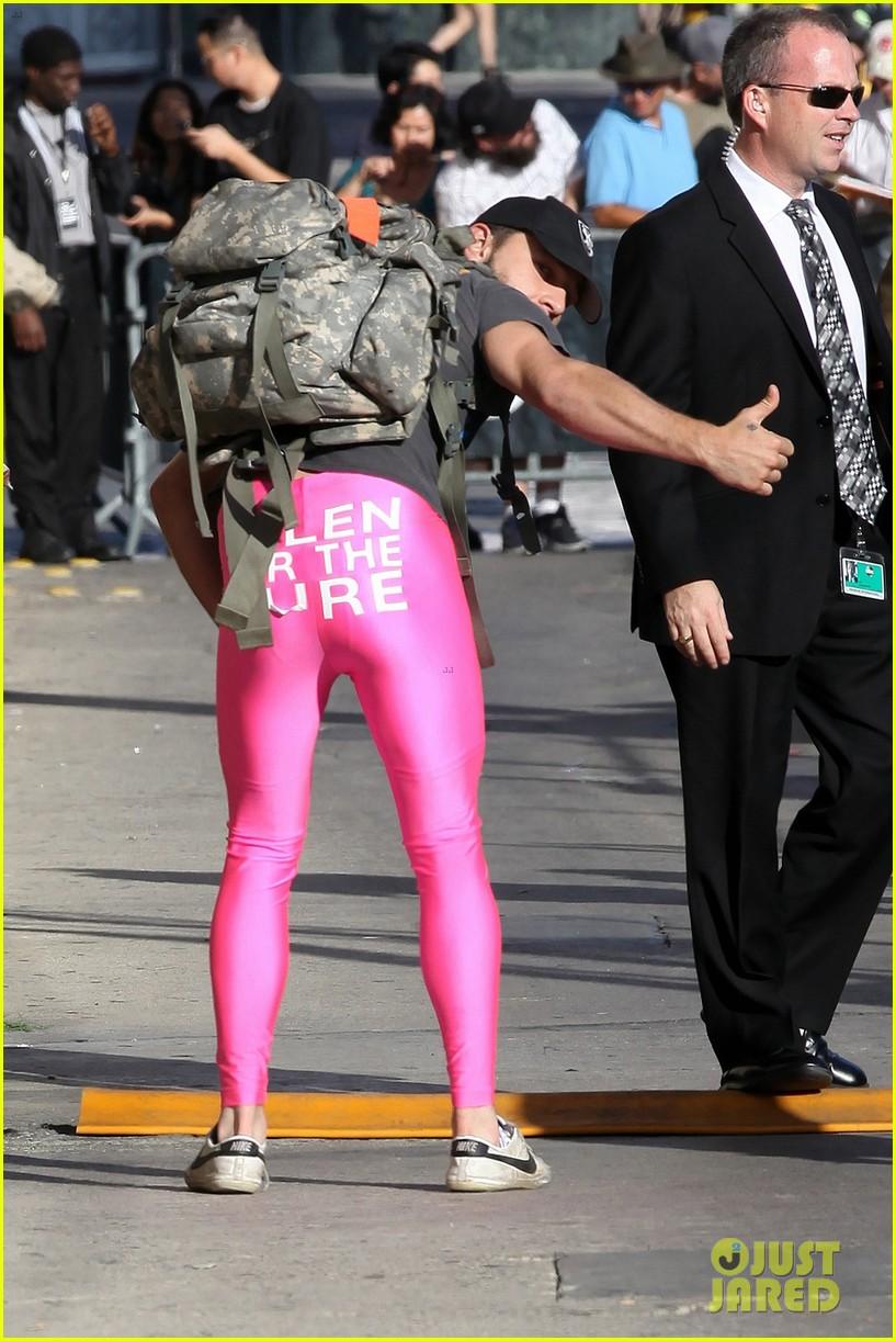 Shia LaBeouf Wears Pink Tights to Accept Ellen DeGeneres\' Challenge ...