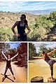 lea michele hike with friend 03