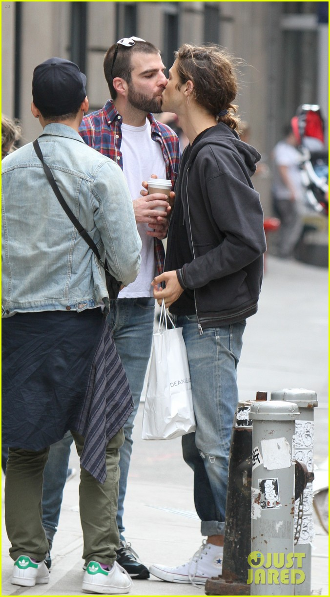 Jonathan Groff And Zachary Quinto Kissing | www.imgkid.com ...