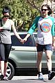krysten ritter new boyfriend adam granduciel hit the gym 16