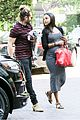 zoe saldana baby bump spotlight at brunch 14