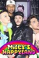 adam lambert licks a blow up doll at miley cyrus birthday party 02
