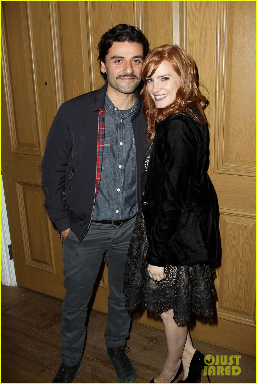 jessica chastain oscar isaac open up about bad auditions for a most violent year 023250182