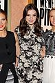 hailee steinfeld brittany snow surprise audience at pitch perfect screening 04