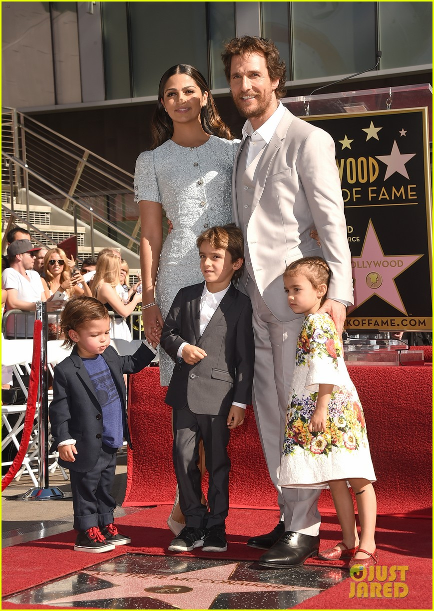 Matthew McConaughey Brings the Whole Family to Hollywood