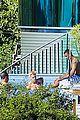 justin bieber goes shirtless at beverly hills mansion 28