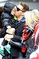 michael buble takes his son noah to a christmas theme park 02