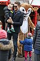 michael buble takes his son noah to a christmas theme park 28