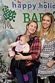 drew barrymore daughters frankie olive jessica alba holiday party 23