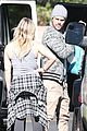 hilary meets up with mike comrie to exchange luca 07