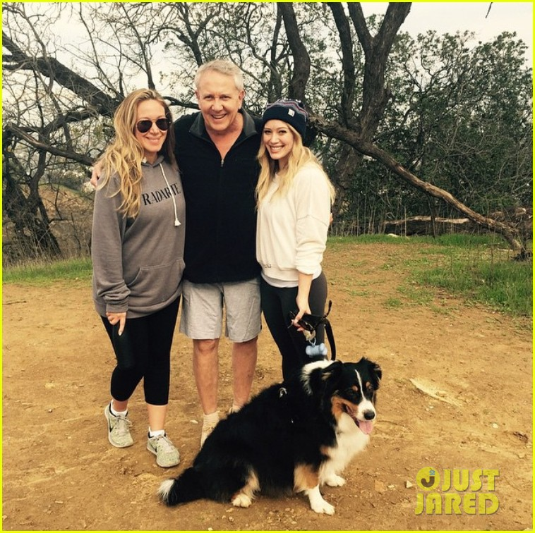hilary duff hike dad pregnant sister haylie 03