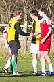 prince harry gets dirty christmas eve charity soccer game 15