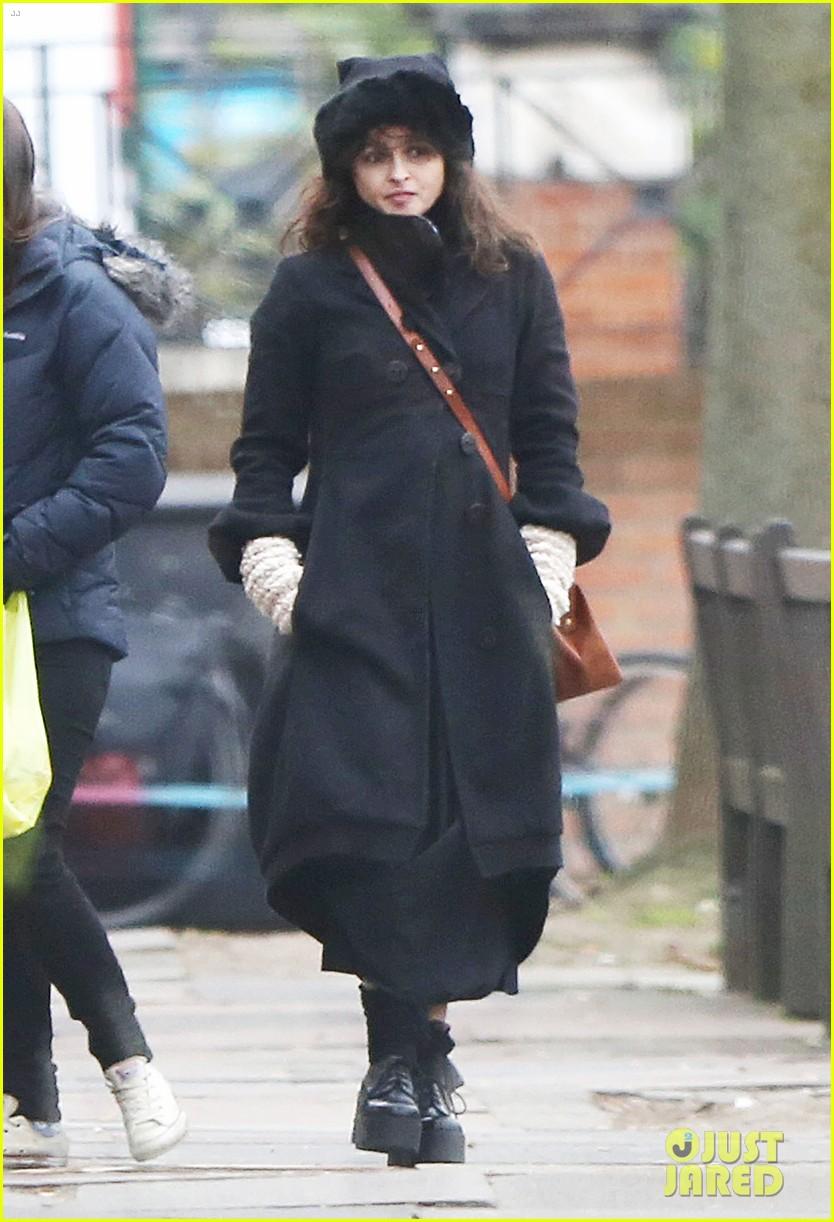 Full Sized Photo of helena bonham carter tim burton brunch after split ... Helena Bonham Carter