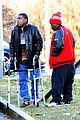 tracy morgan uses his walker after his case against walmart moves forward 16