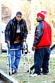 tracy morgan uses his walker after his case against walmart moves forward 28