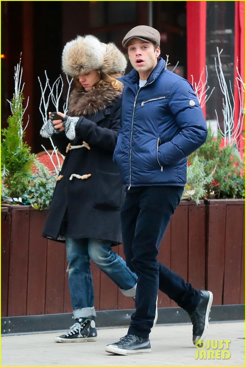 Sebastian Stan Amp Margarita Levieva Spend Some Time