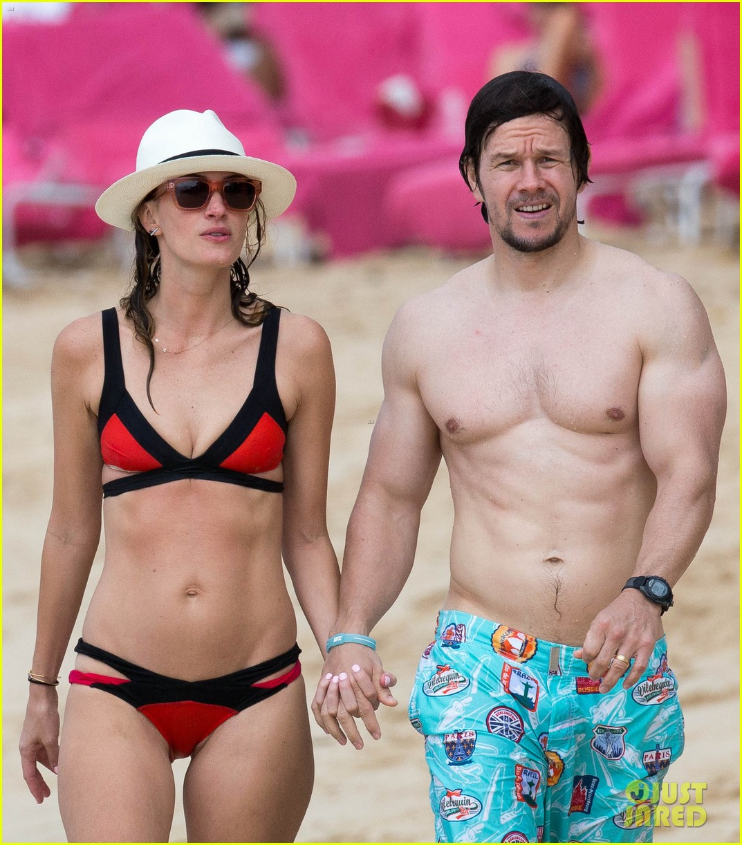Image result for image of Mark Wahlberg with Rhea Durham