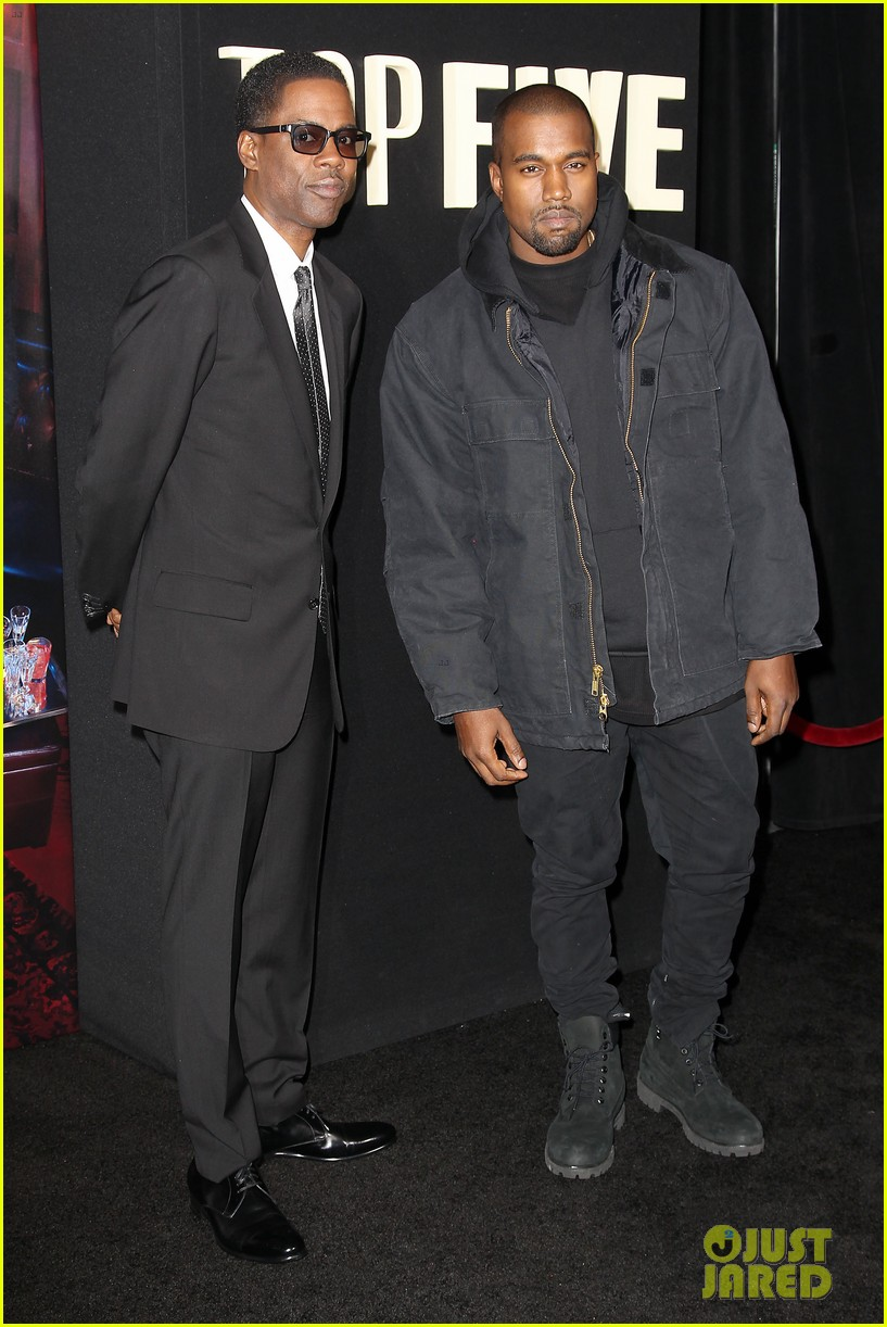 kanye west joins cast of top five at new york premiere 033254596