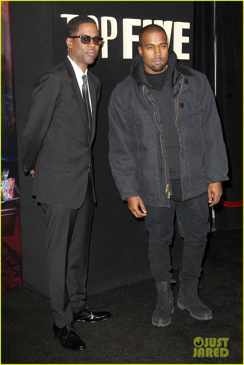 kanye west joins cast of top five at new york premiere 213254614