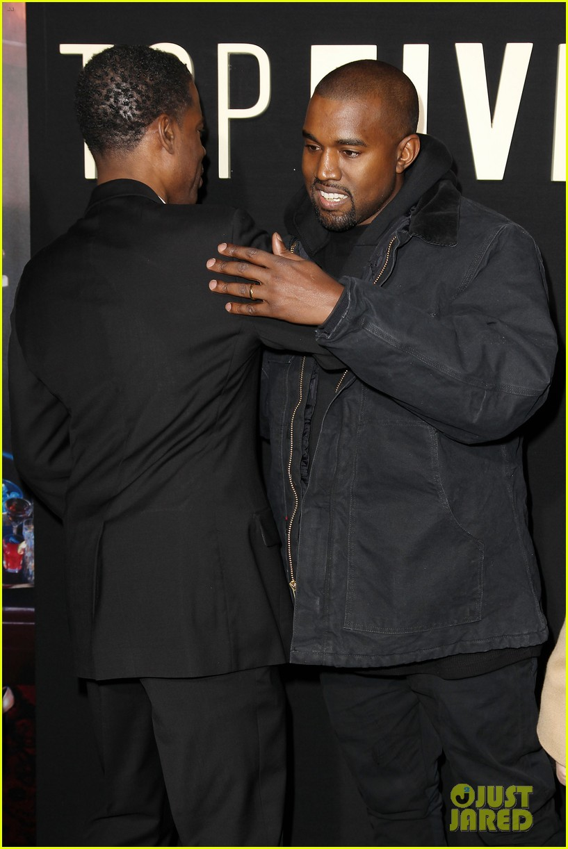 kanye west joins cast of top five at new york premiere 273254620