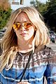 hilary duff out and about sunny day 05
