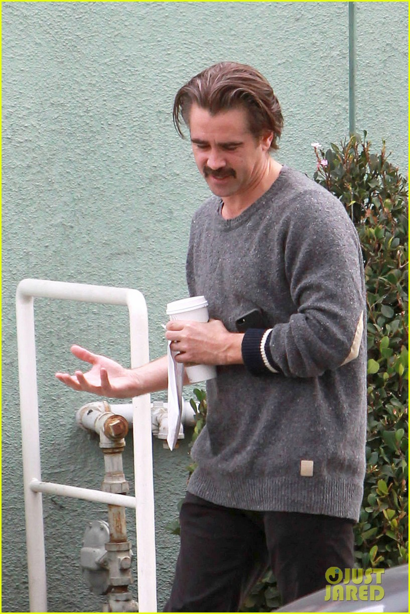 Colin Farrell's Mustac...