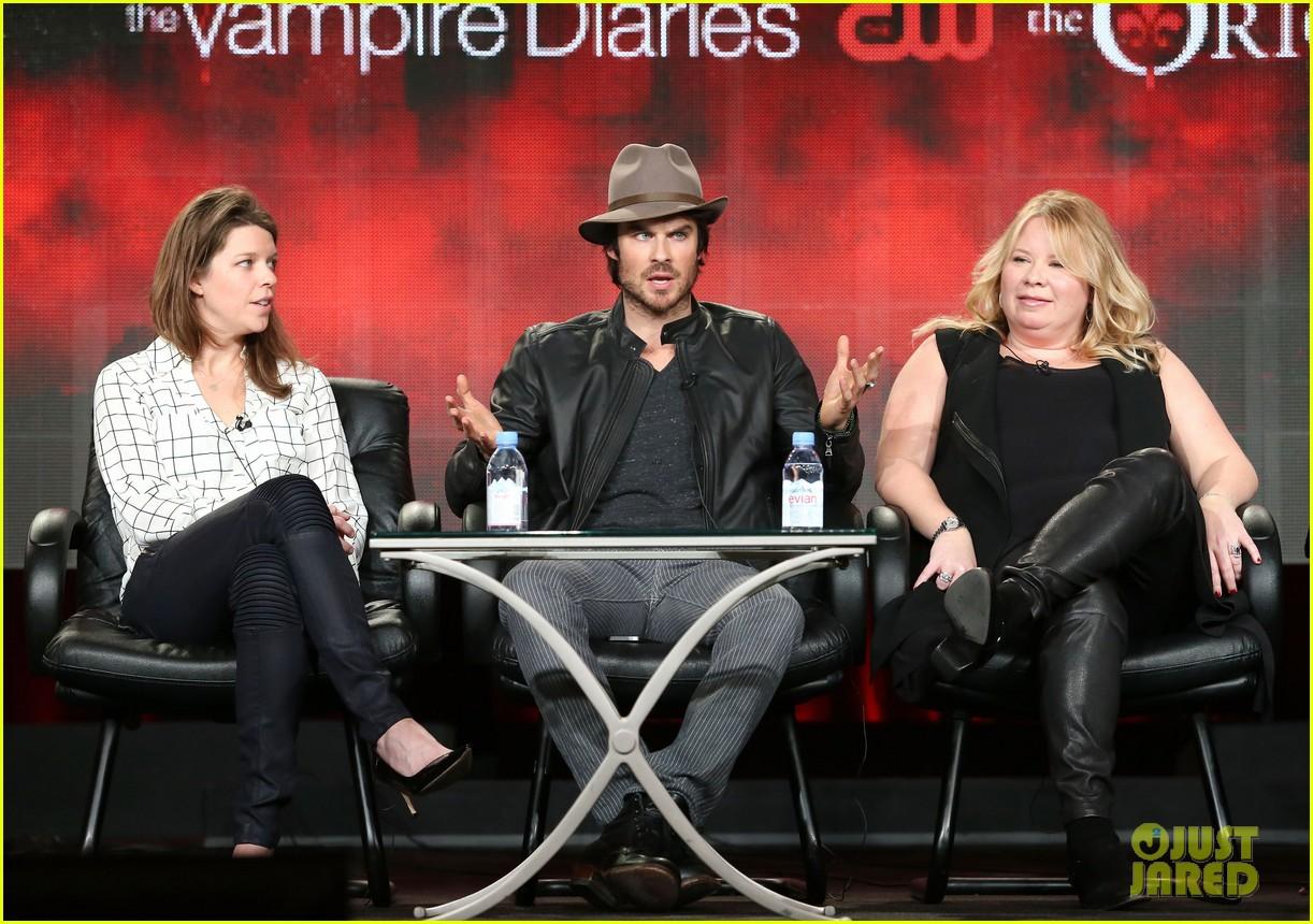 Ian Somerhalder Hits TCA as 'Vampire Diaries' & Seven More