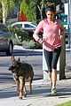 nikki reed jogging on nye 08