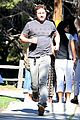 Photo 14 of Gerard Butler Shows Off His Pecs During a Jog