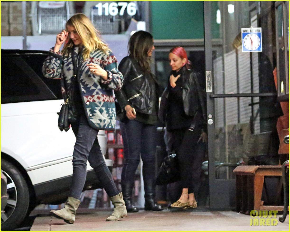 Full Sized Photo of cameron diaz gwyneth paltrow nicole ... Nicole Richie