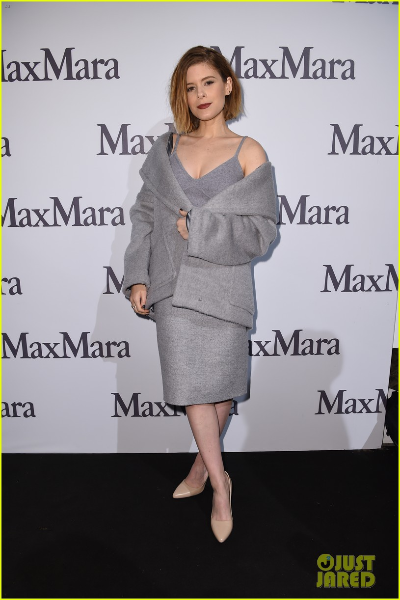 kate mara max mara fashion show meatless mondays 02