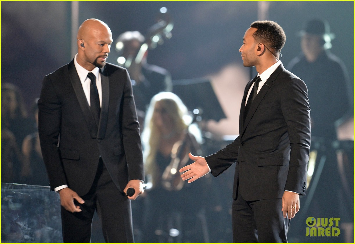 John legend amp common pay tribute to selma with grammy 2015
