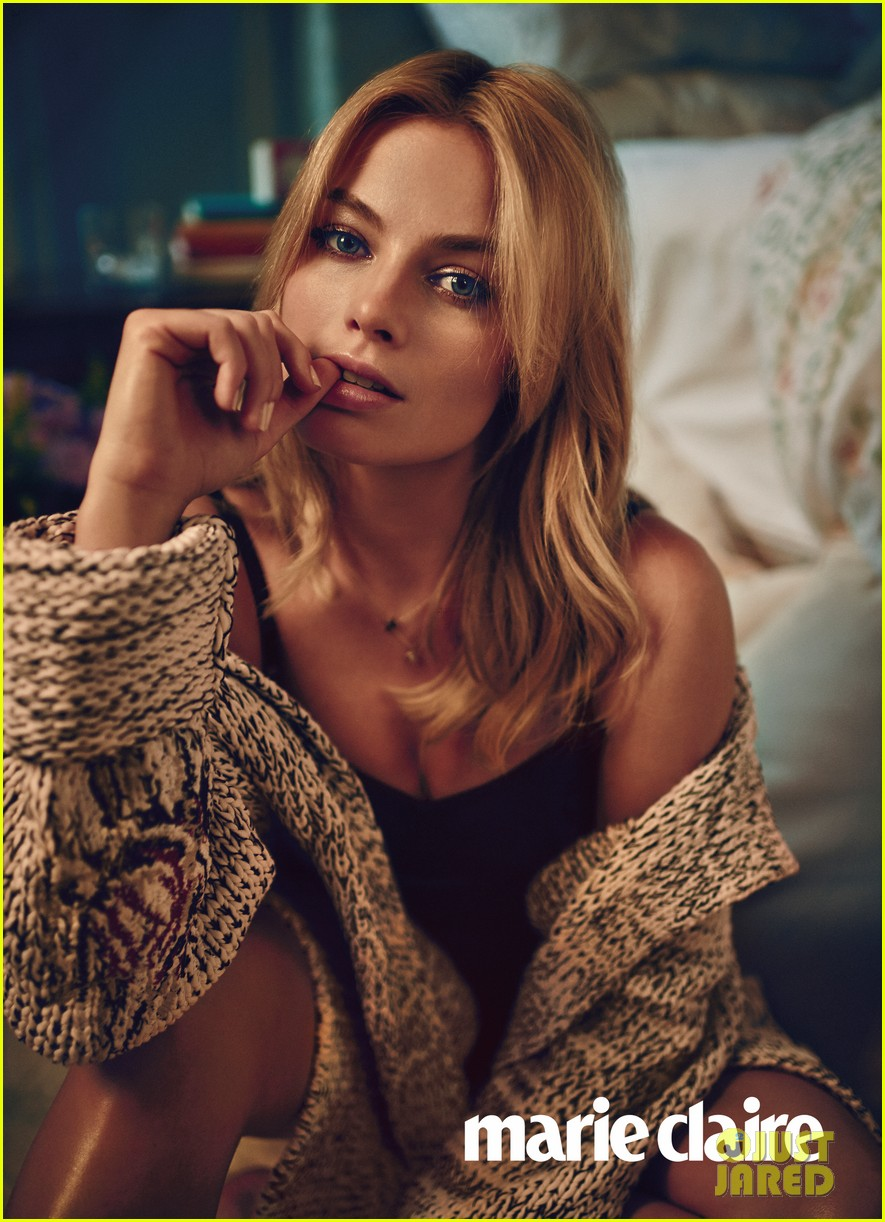 Margot Robbie to 'Marie Claire': My Look Is More 'Toothpaste Model' vs ...