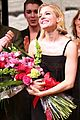 sienna miller takes her opening night bow in cabaret 16